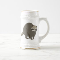 Raccoon Beer Stein