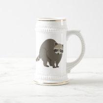 Raccoon Beer Stein