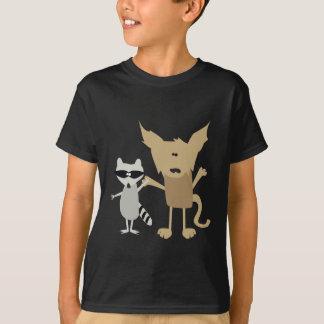 Raccoon & Bobcat T-Shirt