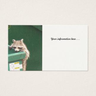 Raccoon Business Card