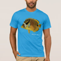 Raccoon Butterfly Fish T-Shirt