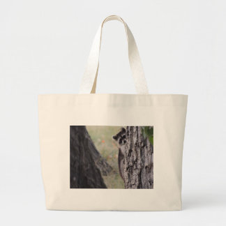 Raccoon Canvas Bags