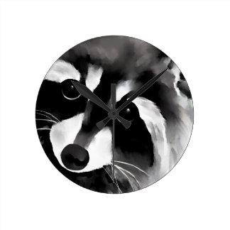 Raccoon Wallclock
