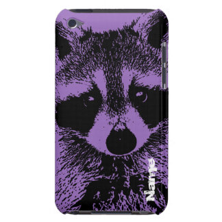 Raccoon Closeup Barely There iPod Cases