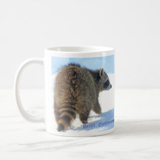 Raccoon Coffee Brrrrrrr Coffee Mug