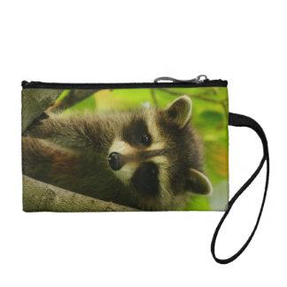 raccoon coin purse