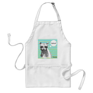 Raccoon_Cookies_113323534.ai Adult Apron