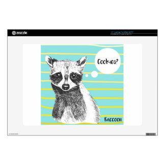 Raccoon_Cookies_113323534.ai Laptop Decals