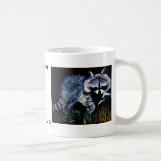 Raccoon Designer CricketDiane Stuff Coffee Mug