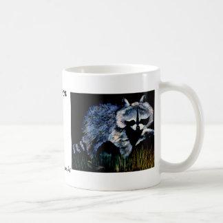Raccoon Designer CricketDiane Stuff Classic White Coffee Mug