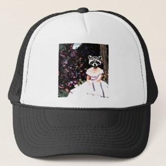 Raccoon Dress Trucker Hat