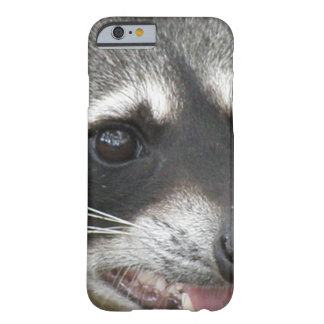 Raccoon Face Barely There iPhone 6 Case