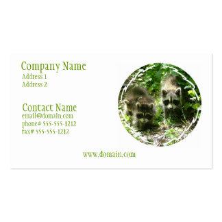 Raccoon Habitat Business Card