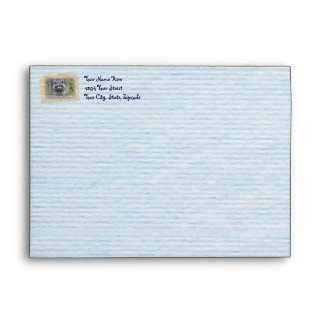 Raccoon - Have A Great Day! Envelope