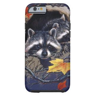 Raccoon Hideaway Tough iPhone 6 Case