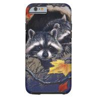 Raccoon Hideaway iPhone 6 Case