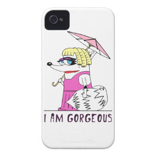 Raccoon: I am Gorgeous iPhone 4 Case-Mate Case