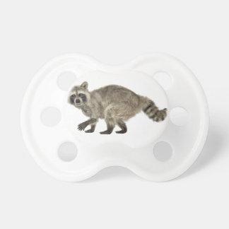 Raccoon In Side Profile Pacifier
