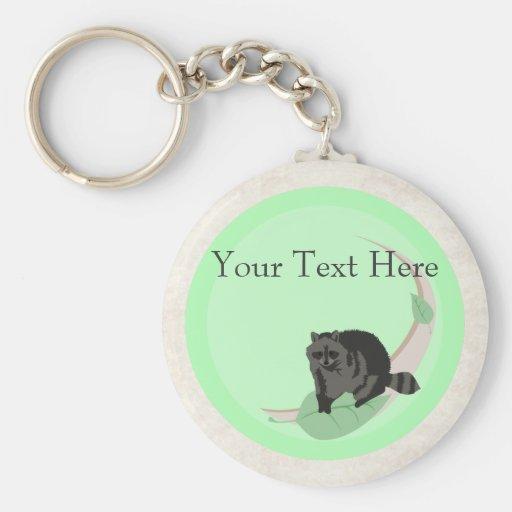 Raccoon Keychain