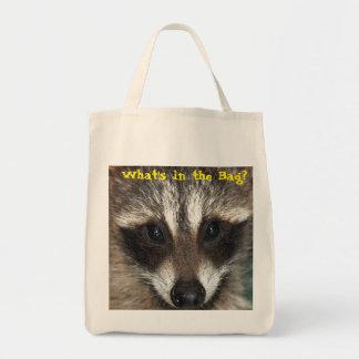Raccoon Kit: What's in the Bag? Tote Bag