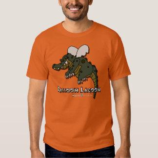 Raccoon Lagoon - Flying Croc Tee