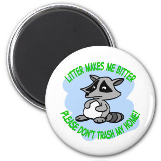 raccoon fridge magnets