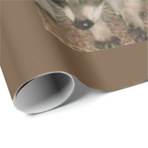 Raccoon Matte Wrapping Paper