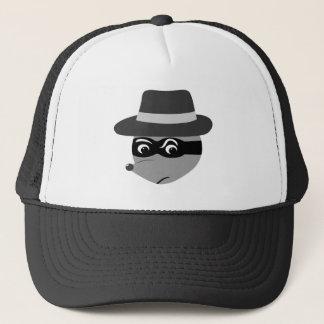 Raccoon Mobster Trucker Hat