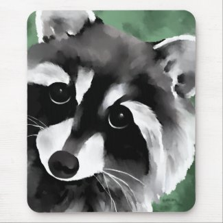 Raccoon Mousepads
