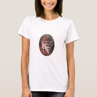 Raccoon Photo T-Shirt