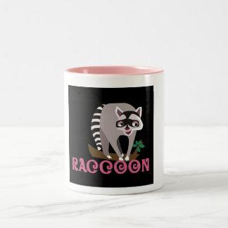 Raccoon Pic Coffee Mug by Animal Art Room
