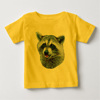Raccoon Picture Baby T-Shirt