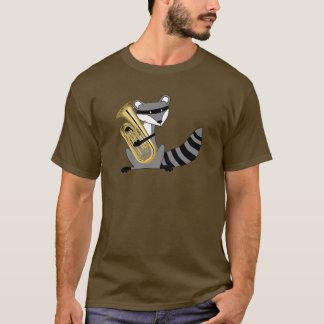 Raccoon Playing the Euphonium T-Shirt