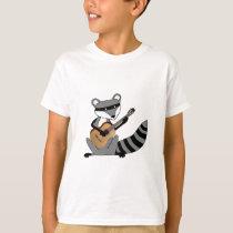 Raccoon Playing the Guitar T-Shirt
