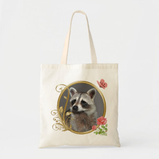Raccoon Portrait Bag