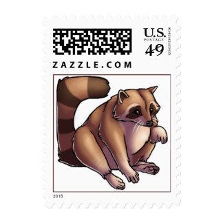 Raccoon Stamps