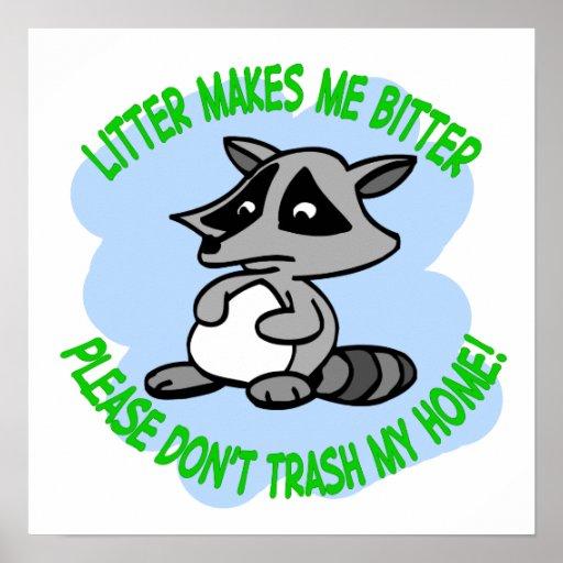 raccoon posters