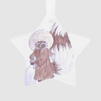 Raccoon Priest Ornament