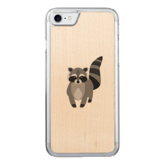 Raccoon Rascal Carved iPhone 7 Case