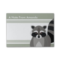 Raccoon Rascal Cute Design for Animal Lover Post-it Notes