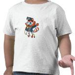 Raccoon Rock Star T Shirts
