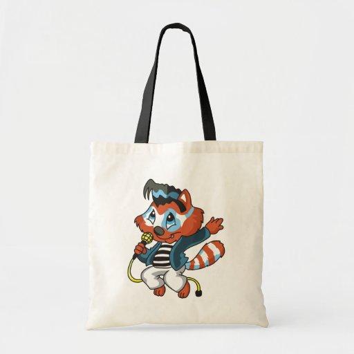 Raccoon Rock Star Tshirts and Gifts Bag