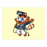 Raccoon Rock Star Tshirts and Gifts Postcard