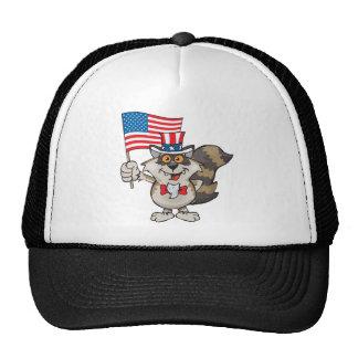 raccoon-sam1 trucker hat