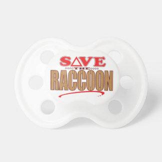 Raccoon Save Pacifier