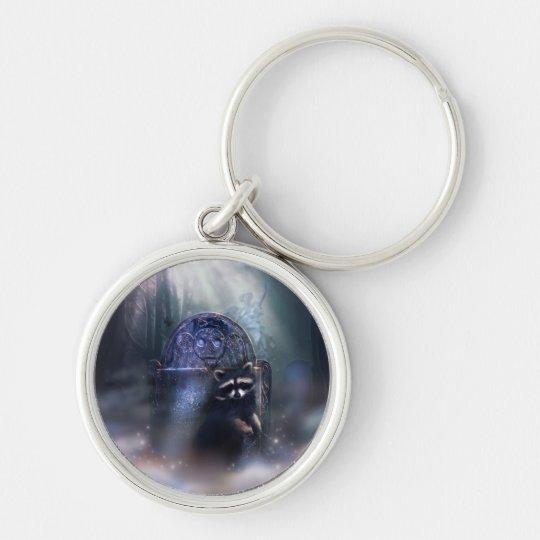 Raccoon Spirit Keychain