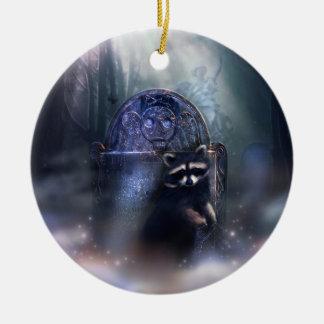 Raccoon Spirit Ornament