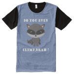 Raccoon t shirt