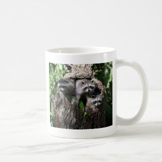 Raccoon - The Three Amigos Classic White Coffee Mug