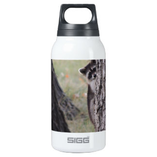 Raccoon Thermos Water Bottle